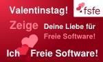 Ich liebe Freie Software!