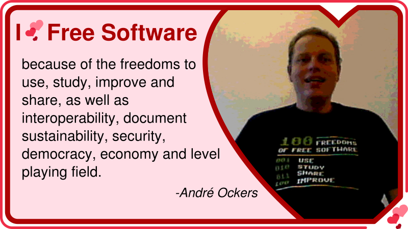 André Ockers: Why he loves Free Software